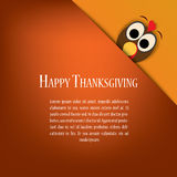 Thanksgiving card vector design with traditional Royalty Free Stock Image