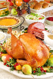 Thanksgiving dinner Royalty Free Stock Photos