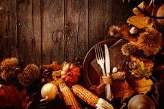 Thanksgiving dinner Stock Photography