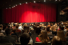 Theater interior Stock Images