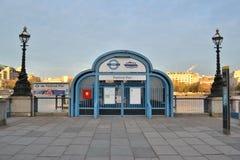Themsen London för festivalpirflod Fotografering för Bildbyråer