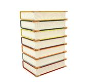 Three dimensional pileup books Stock Photography