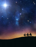 Three wise men Royalty Free Stock Images
