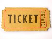 Ticket stub Royalty Free Stock Photography