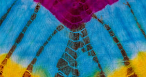 Tie dye pattern Royalty Free Stock Photos