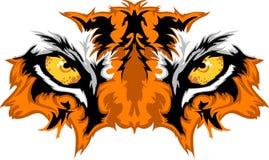 Tiger Eyes Vector Graphic Royalty Free Stock Photos
