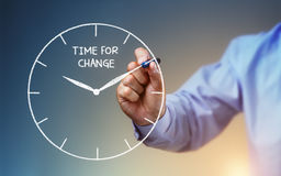 Time for change Stock Photography
