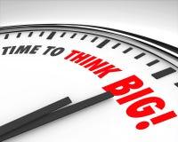 Time to Think Big Clock Creativity Innovation Brainstorming