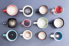 Time for your daily dose of caffeine Stock Image