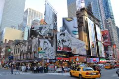 Times Square, Broadway, New York City Stock Image