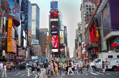 Times Square Traffic New York USA Royalty Free Stock Photo