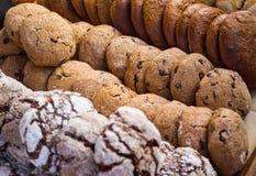Tipos diferentes de biscoitos Imagem de Stock