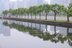 Tokyo smog Stock Image