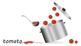 Tomatoe sauce Royalty Free Stock Photo