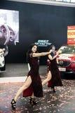Toon op dansend meisje Royalty-vrije Stock Foto's