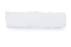 Torn Paper Banner Royalty Free Stock Photography