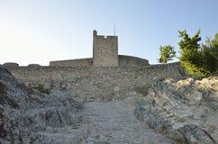 Torre medievale nel castello di Marvao Immagini Stock