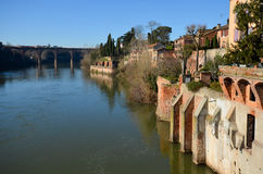 Tourism in Albi Royalty Free Stock Photography