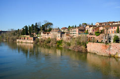 Tourism in Albi Royalty Free Stock Photo