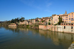 Tourism in Albi Royalty Free Stock Images