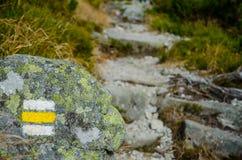 Tourist path Stock Images
