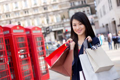 Tourist shopping Royalty Free Stock Photo