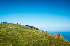 Tower on the hill. Stock Photography