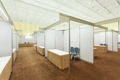 Trade show interior Stock Image
