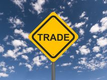 Trade sign Royalty Free Stock Images