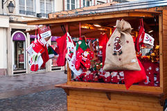 Traditinal  decoration christmas market Stock Photography