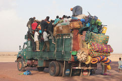 Transport in Africa Royalty Free Stock Images