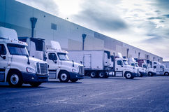 Transport shipping logistics concept image Royalty Free Stock Image