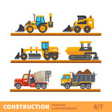 Transport and tool for construction Royalty Free Stock Image