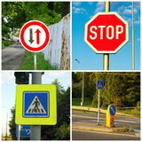 Transportation sign Royalty Free Stock Images