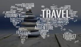 Travel Explore Global Destination Trip Adventure Concept Stock Photos