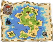 Treasure map Stock Photography