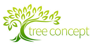 Tree icon concept Royalty Free Stock Photography