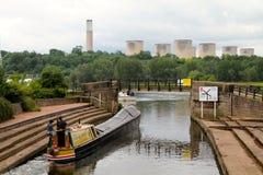Trent lock junction Stock Images