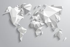 Triangle World Royalty Free Stock Photos