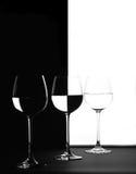 Trio in black and white Stock Photo