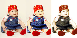 Triplets Royalty Free Stock Photography