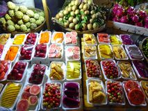 Tropical fruits Stock Photos