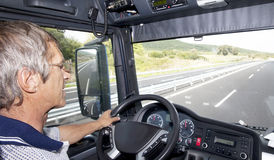 Truck Driver Stock Photography