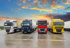 Truck - Freight transportation Royalty Free Stock Photo