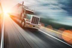 Trucking Royalty Free Stock Images