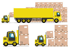 Trucking industry. Stock Images