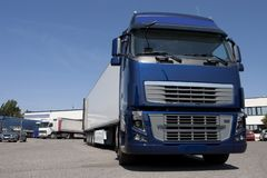 Trucking and logistics Royalty Free Stock Image