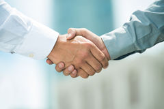 Trusted partnership Stock Photo