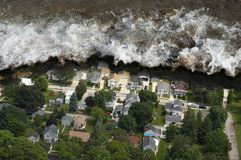 Tsunami Tidal Wave Natural Disaster Royalty Free Stock Image