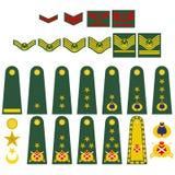 Turkish army insignia Stock Image